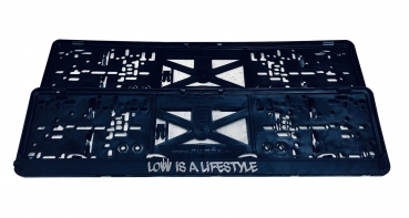 LOW iS A LiFESTYLE® Kennzeichenhalter